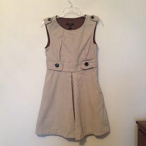 Vintage khaki dress
